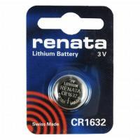 Батарейка RENATA CR1632 3В дисковая литиевая 1шт