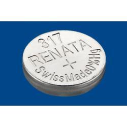 Батарейка RENATA 317 1,55В дисковая 1шт