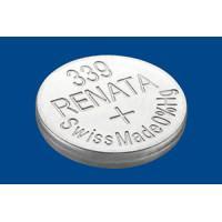 Батарейка для часов RENATA 339 SR614SW 1,55 В дисковая 1шт