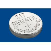 Батарейка для часов RENATA 317 SR516SW SR62 1,55В дисковая 10шт