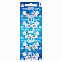 Батарейки для часов RENATA 364 SR621SW SR60 1,55 В дисковые 10шт