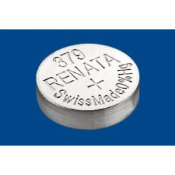 Батарейка для часов RENATA 379 SR521SW SR63 1,55 В дисковая 1шт