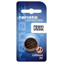 Батарейка RENATA CR2032 3В дисковая литиевая 1шт
