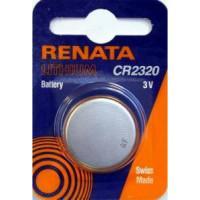 Батарейка RENATA CR2320 3В дисковая литиевая 1шт