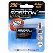 Аккумулятор Ni-Mh металлогидридный Robiton 250MH9 Крона 250 мАч 9 В