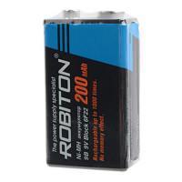 Аккумулятор Ni-Mh металлогидридный Robiton 200MH9 Крона 200 мАч 9 В
