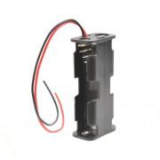 Батарейный отсек с проводами ROBITON Bh2xAA/2 для 2 батареек или аккумуляторов размера АА и 14500