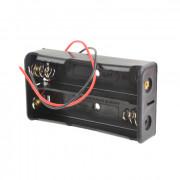 Батарейный отсек с проводами ROBITON Bh2x18650 для 2 Li-Ion аккумуляторов размера 18650