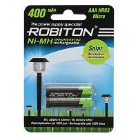 Ni-Mh аккумуляторы Robiton Solar AAA 400мАч 2шт