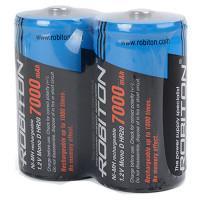 Аккумуляторы Ni-Mh металлогидридные Robiton 7000MHD HR20 D 7000 мАч 1,2 В 2шт