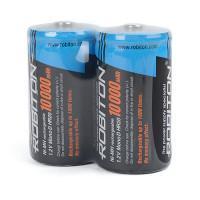 Аккумуляторы Ni-Mh металлогидридные Robiton 10000MHD HR20 D 10000 мАч 1,2 В 2шт