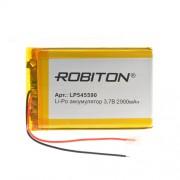 Аккумулятор Li-Po Robiton 545590 2900мАч 1шт