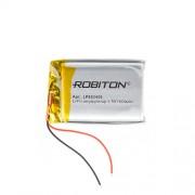 Аккумулятор Li-Po Robiton 883450 1600мАч 1шт