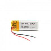 Аккумулятор литий-полимерный Li-Pol Robiton 401230 3,7В 100мАч 1шт