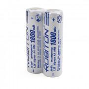 Аккумуляторы Ni-Mh Robiton 1800MHAA prof AA 1800 мАч 1,2 В плоский плюсовой контакт 2шт