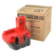 Аккумулятор Ni-Cd никель-кадмиевый Robiton BS1215NC для шуруповерта Bosch 12 В 1500 мАч