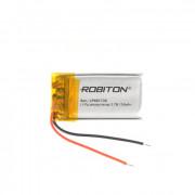 Аккумулятор литий-полимерный Li-Pol Robiton 401730 3,7В 150мАч 1шт