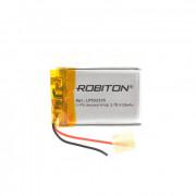 Аккумулятор литий-полимерный Li-Pol Robiton 552535 3,7В 430мАч 1шт