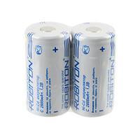 Аккумуляторы Ni-Cd никель-кадмиевые Robiton 2800NCC SR2 C 26500 2800 мАч 1,2 В плоский плюсовой контакт 2шт