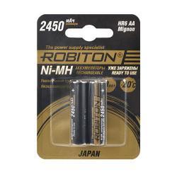Аккумулятор Ni-MH Robiton Japan AA 2450мАч 1,2В 2шт