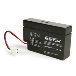 Свинцово-кислотный аккумулятор Robiton VRLA 12В 800мАч 1шт