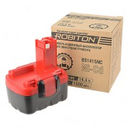 Аккумулятор Ni-Cd никель-кадмиевый Robiton BS1415NC для шуруповерта Bosch 14,4 В 1500 мАч