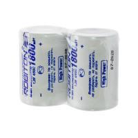 Аккумуляторы Ni-Mh металлогидридные Robiton 1800MH4/5SC 4/5 SC 1800 мАч 1,2 В плоский плюсовой контакт 2шт
