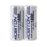 Ni-Mh аккумуляторы Robiton 4/5 A 1800мАч плоский контакт (+) 2шт