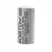 Аккумулятор Li-Fe (Li-Ion) Robiton 16340 500мАч 3,2В 1шт