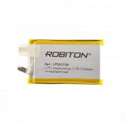 Аккумулятор Li-Po Robiton 503759UN 1250мАч (без защиты) 1шт