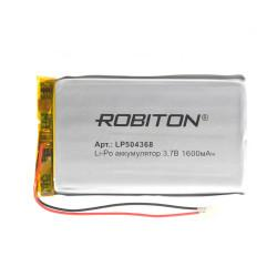 Аккумулятор Li-Po Robiton 504368 1600мАч 1шт