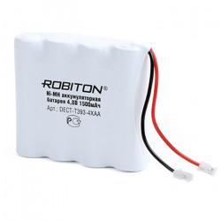 Аккумуляторная сборка Ni-Mh Robiton Dect 4xAA 1500мАч