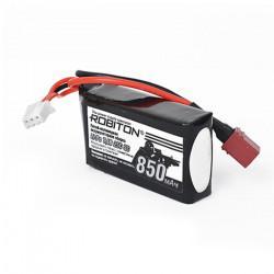 Аккумулятор литий-полимерный 2s Li-Pol Robiton 7,4В 850мАч