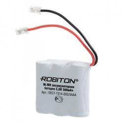 Аккумуляторная сборка Ni-Mh Robiton Dect 3x2/3AAA 300мАч