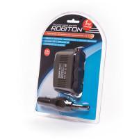 Разветвитель автомобильного прикуривателя на 3 гнезда с USB Robiton SM3