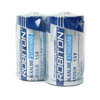 Батарейки алкалиновые Robiton Alkaline Standard D LR20 1,5 В 12шт