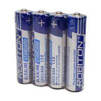 Щелочная батарейка Robiton Alkaline Standard AAA 40шт LR03 SR4