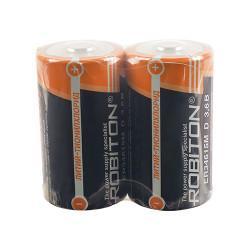 Специальная литиевая высокотоковая батарейка Li-SOCl2 Robiton ER34615 D 3,6В 2шт