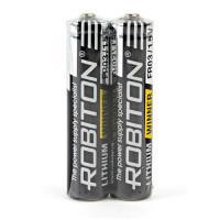 Литиевая батарейка Robiton Lithium Winner AAA 2шт R-FR03-SR2