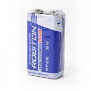 Солевая батарейка Robiton Zinc Carbon Plus, Крона 9V, R-6F22-SR1 10шт