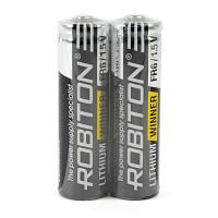 Литиевая батарейка Robiton Lithium Winner AA 2шт R-FR6-SR2
