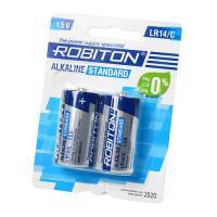 Батарейки алкалиновые Robiton Alkaline Standard C LR14 1,5 В 2шт