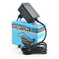 Сетевой импульсный блок питания 2А 12В 24Вт Robiton IR12-2000S положительная полярность (штекер 12х5,5х2,5 мм)