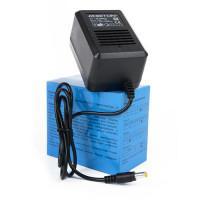 Сетевой трансформаторный нестабилизированный блок питания 1А 9В 9Вт ROBITON B9-1000 положительная полярность (штекер 12х5,5х2,5 мм)