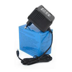 Сетевой трансформаторный нестабилизированный блок питания 0.5А 9В 4.5Вт ROBITON B9-500 отрицательная полярность (штекер 12х5,5х2,1 мм)
