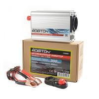 Инвертор преобразователь напряжения автомобильный 12-220В ROBITON CN300W 300Вт модифицированный синус выход 1 розетка