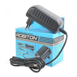 Блок питания для светодиодов импульсный Robiton IR12-2250S 12В положительная полярность 2250мА 12х5,5х2,5мм