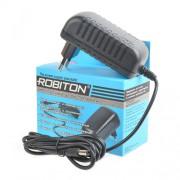 Блок питания для светодиодов импульсный Robiton IR12-3000S 12В положительная полярность 3000мА 12х5,5х2,5мм