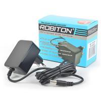 Сетевой импульсный блок питания 2А 5В 10Вт для Wi-Fi роутеров Robiton IR5-10W положительная полярность (штекер 12х5,5х2,5 мм)