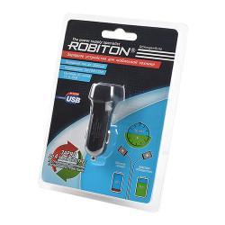 Автомобильное зарядное устройство ROBITON QCharger-Auto 3000мАч 12-24В